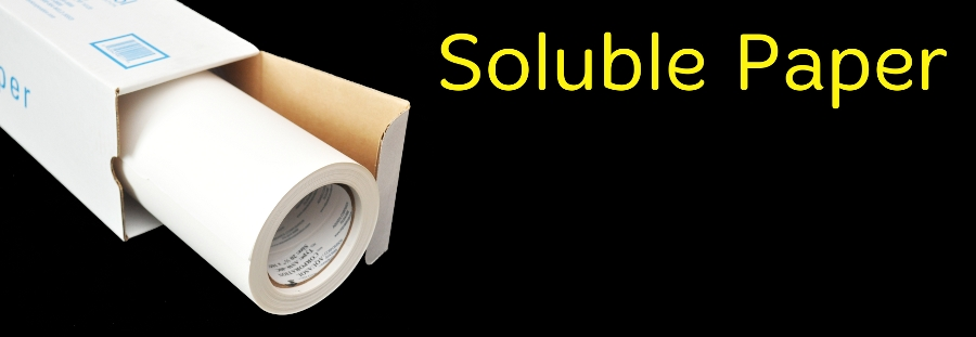 Soluble Paper